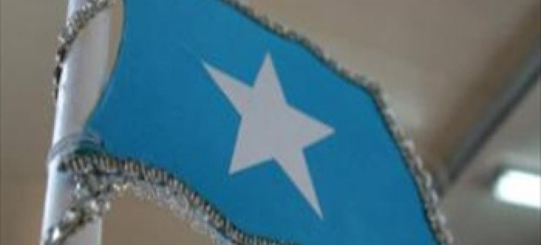 Bendera ya Somalia picha ya UNSOM