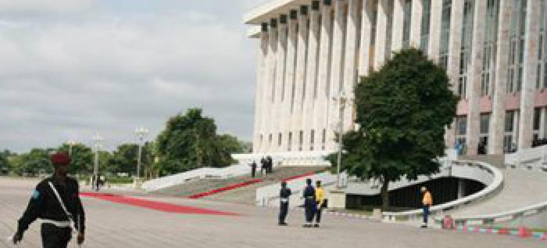 Kasri ya Raia, Kinshasa ambo kuwepo kwa Bunge na Seneti @MONUSCO/Myriam Asmani