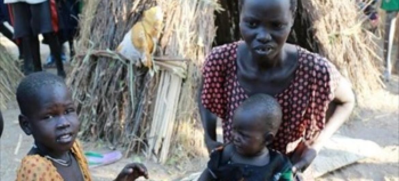 Mizozo kama ule wa Sudan Kusini umesababisha madhila makubwa ikiwemo njaa kwa wakazi hususan wanawake na watoto. (Picha-WFP)