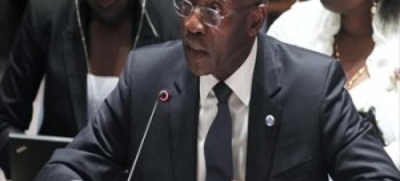 Babacar Gaye, Mwakilishi wa Katibu Mkuu wa UM huko CAR na Mkuu wa MINUSCA. (Picha:UN/JC McIlwaine)