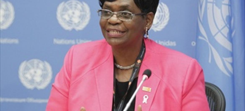 Mkuu wa UNFPA nchini Nigeria Bi. Ratidza Ndhlovu,