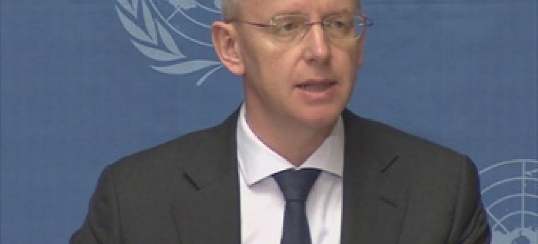Msemaji wa UNHCR Adrian Edwards Picha@UNIFEED
