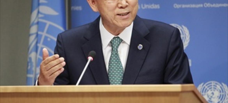 Katibu Mkuu wa Umoja wa Mataifa Ban Ki-moon.