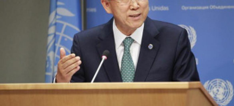 Katibu Mkuu Ban Ki-moon.