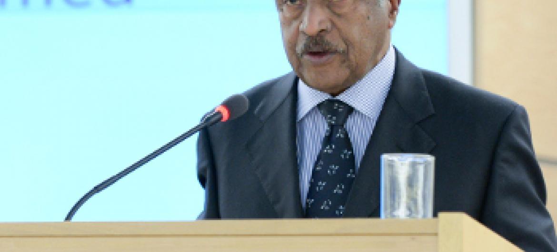 Osman Saleh Mohammed, Waziri wa Mambo ya Nje wa Eritrea. Picha: UN
