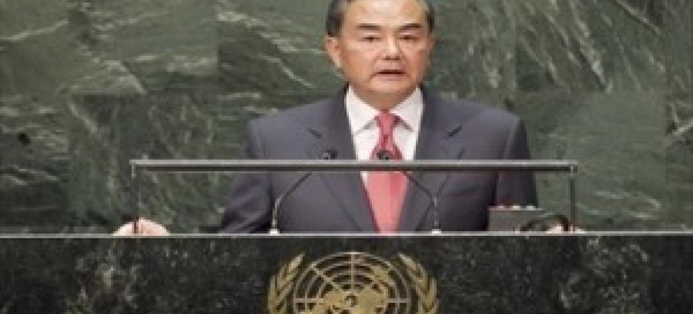 Waziri wa Mambo ya Nje wa China, Wang Yi. (Picha:UN /Kim Haughton)