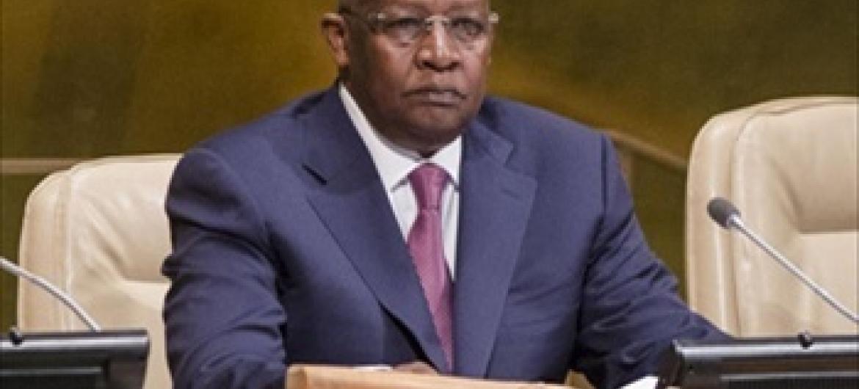 Rais wa Baraza Kuu la Umoja wa Mataifa, Sam Kutesa,(
