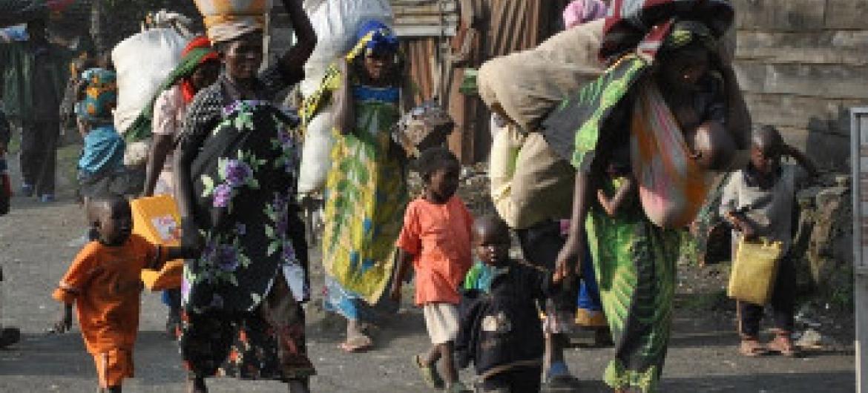 Watu wamelazimika kuhama makwao nchini DRC. Picha ya UNHCR/G. Ramazani