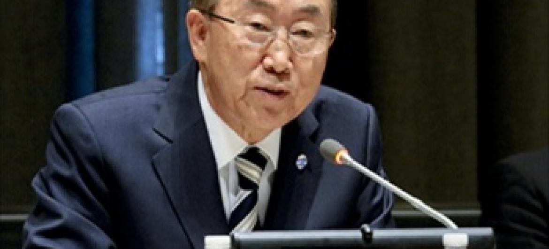 Katibu Mkuu Ban Ki-moon.Picha ya UM/NICA