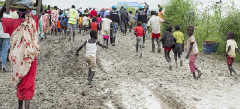 Wakimbizi wa Sudan Kusini.Picha ya UM/JC Mcllwaine