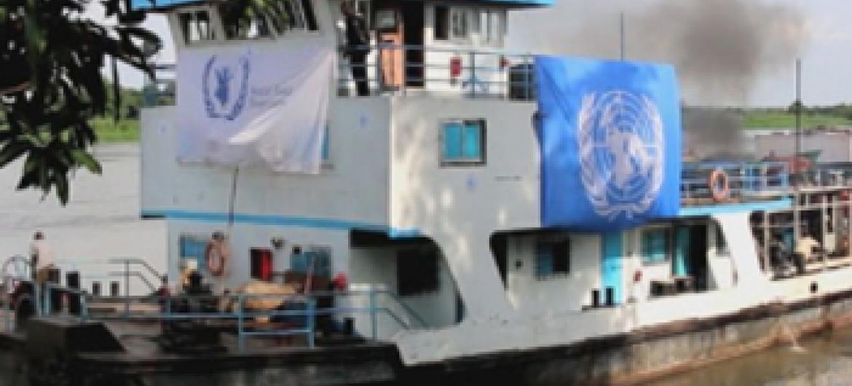 Msaada wa chakula.(Picha ya WFP/Sudan Kusini)