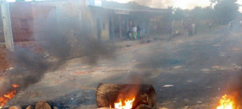 Burundi, Agosti mwaka 2015, kwenye mitaa ya Bujumbura. Picha ya Desire Nimubona/IRIN