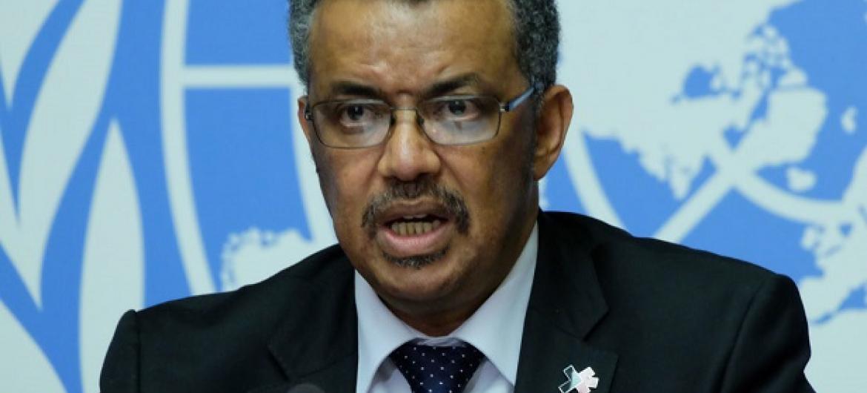 Mkurugenzi mpya mteule wa WHO,Dr Tedros Adhanom Ghebreyesus.(Picha:UM/Daniel Johnson)