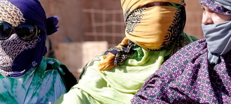 Wakimbizi wa Sahrawi kambini Smara nje ya Tindouf, Algeria.