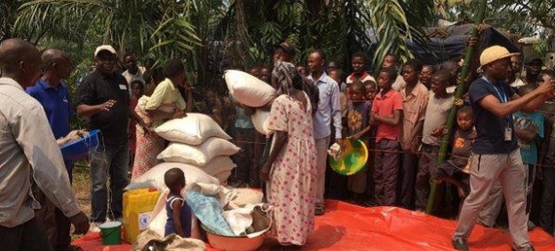 WFP wagawa msaada Kasai, DRC. Picha: WFP