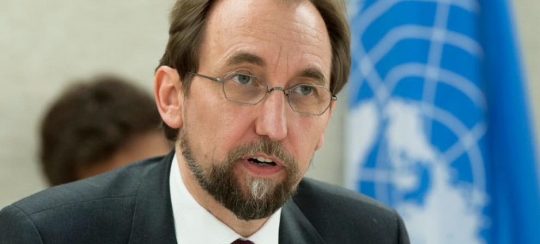 Kamishina Mkuu wa Haki za binadamu wa Umoja wa Mataifa Zeid Ra'aad al-Hussein. Picha: UN/Jean-Marc Ferré