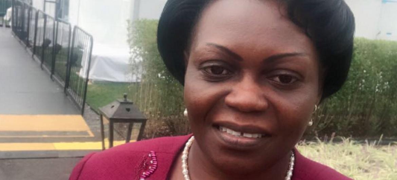 Bi. Sarah Opendi waziri wa afya wa Uganda. Picha: UM/Idhaa ya Kiswahili