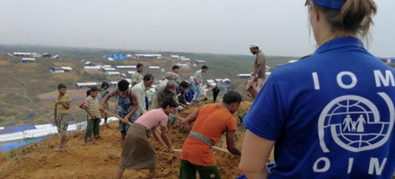 Wakimbizi waRohingya nchini Bangladesh. Picha: IOM