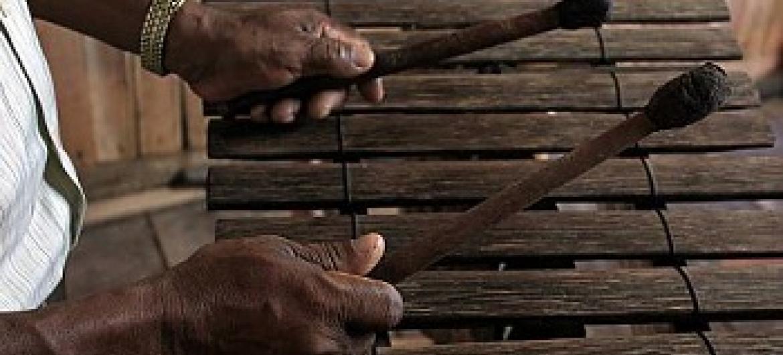 Marimba. (Picha: UNESCO)