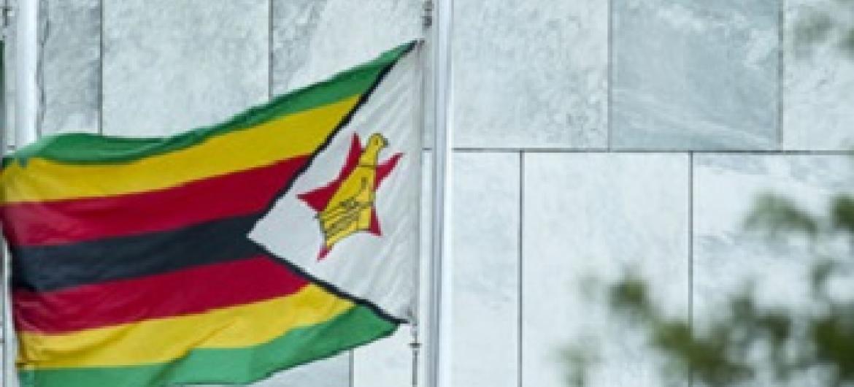 Bendera ya Zimbabwe. (Picha:UN/Maktaba)