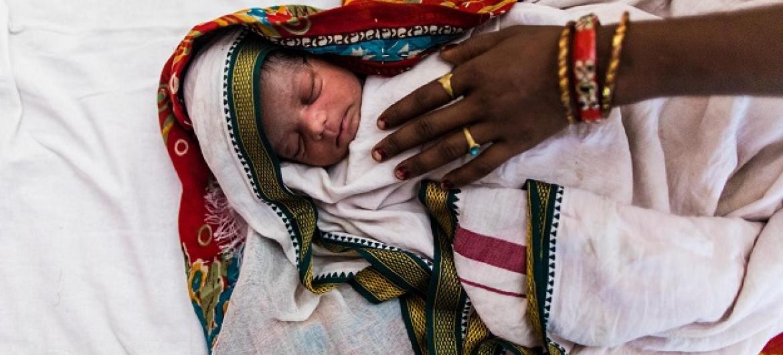 Mtoto mchanga. Picha: UNICEF
