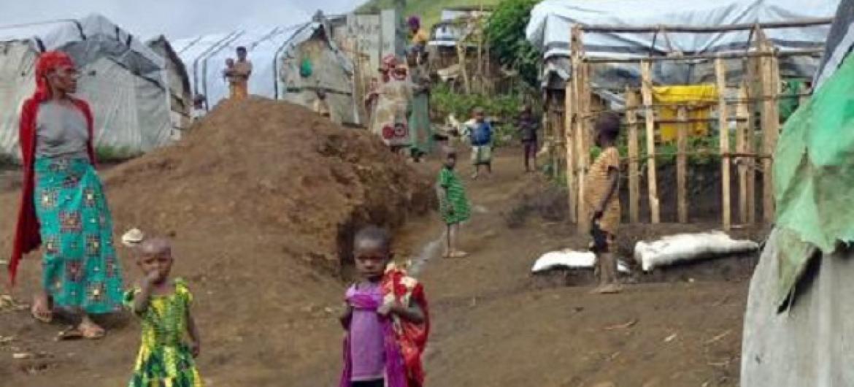 Wakimbizi wa ndani DRC. Picha: IOM