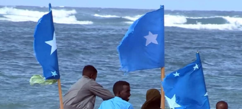 Nchini Somalia kila mbinu yatumika ili kuchagiza na kuendeleza amani. (Picha:UNSOM Video)