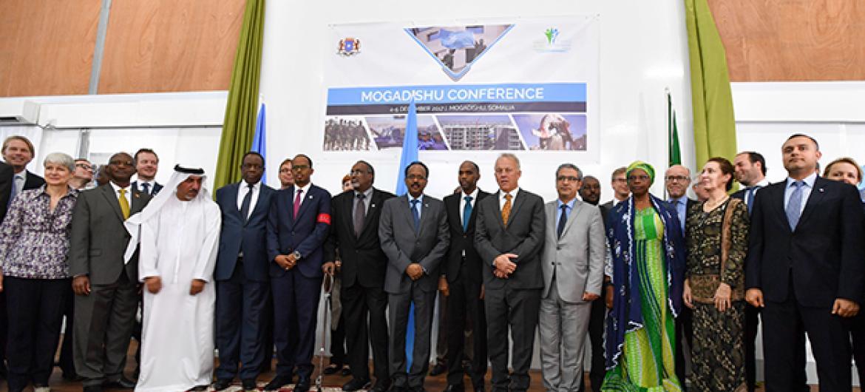 Washiriki wa mkutano wa masuala ya ulinzi na usalama mjini Mogadishu nchini Somalia. Picha: UNSOM