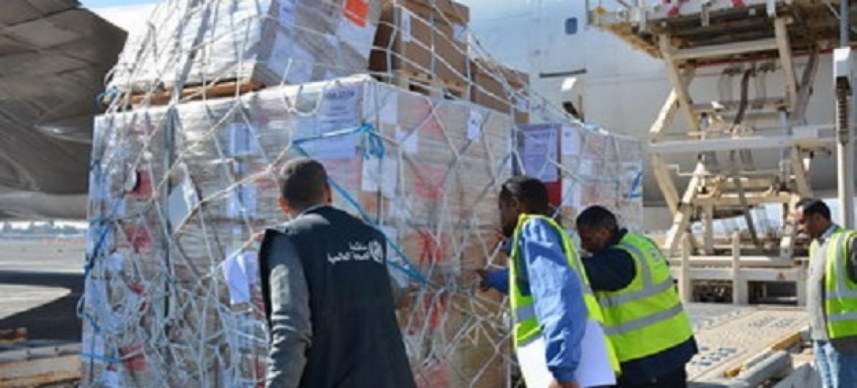 Wahudumu wa WHO wafikisha tani 70 ya vifaa vya Hospitali Yemen. Picha: WHO