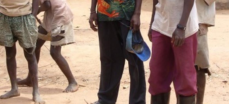 Baadhi ya mishale iliyosalimishwa na watu wa kabila la watwa huko DRC. (Picha:MONUSCO)