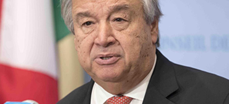 Katibu Mkuu wa Umoja wa Mataifa Antonio Guterres. (Picha:UN/Maktaba)