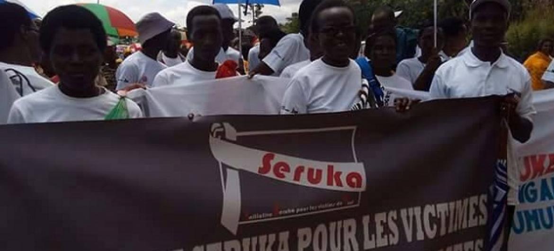 Kampeni za shirika lisilo la kiserikali la SERUKA kwenye uwanja wa Parke mjini Bujumbura. Picha: UM/ Ramadhan Kibuga