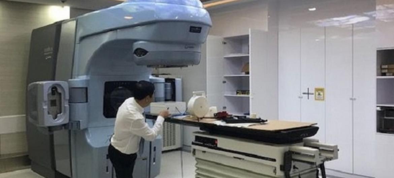 Kituo cha Techo Santepheap katika Hospitali ya Calmette huko Phnom Penh nchini Cambodia. Picha: (Picha: N. Mokhtar / IAEA)