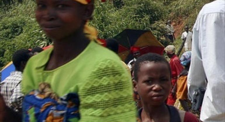 Mkaazai wa Burundi.Picha ya UM/Martine Perret(maktaba)