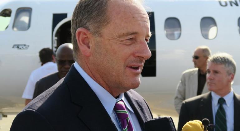 Mjumbe Maalum wa Katibu Mkuu wa Umoja wa Mataifa nchini Sudan Kusini, David Shearer.(Picha:UNMISS)