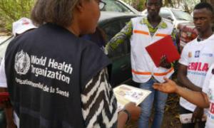Shirika la Afya Duniani (WHO) linafuatilia watu waliougua Ebola. Picha: WHO/P. Haughton