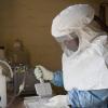 Juhudi za kukabiliana na Ebola katika kituo cha huduma za afya nchini DRC. Picha: WHO