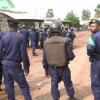 Askari wajaribu kudhibiti maandamano Goma nchini DRC kwa njia ya amani. Picha: UM/Video capture