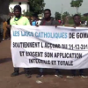 Maandamano nchini DRC. Picha: UM/Video capture
