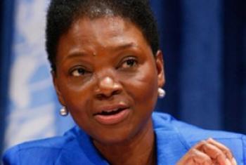 Msaidizi wa Katibu Mkuu kuhusu uratibu wa misaada ya kibinadamu, Bi. Valerie Amos. (picha: Maktaba)