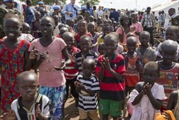 Wakimbizi wa Sudan Kusini Picha Ya UM /Isaac Billy