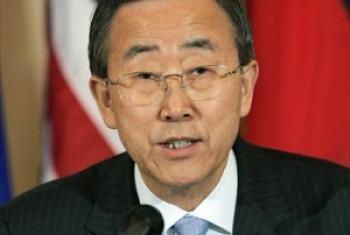 Katibu Mkuu wa UM Ban Ki-Moon. (Picha:UN/Maktaba)