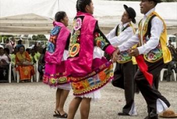 Tamaduni kama hizi zinachagiza maelewano baina ya wahusika na jamii. (Picha:UN /Logan Abassi)
