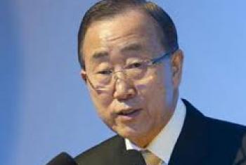Katibu Mkuu wa UM Ban Ki-Moon. Picha @UN-Maktaba