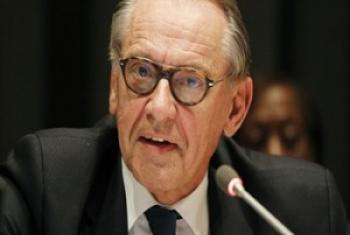 Jan Eliasson, Naibu Katibu Mkuu wa Umoja wa Mataifa. (Picha@ UN /Paulo Filgueiras)