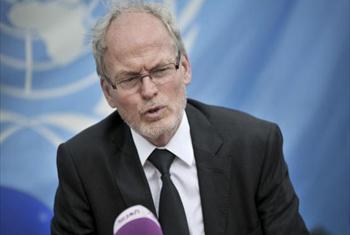 Mwakilishi Maalum wa Katibu Mkuu na Mkuu wa Ofisi ya Umoja wa Mataifa nchini Somalia, UNSOM, Nicholas Kay