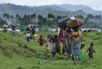 Wakimbizi kutoka DRC kwenye kituo cha Nyakabande, Uganda. Picha@UNHCR/L.Beck(UN News Centre)