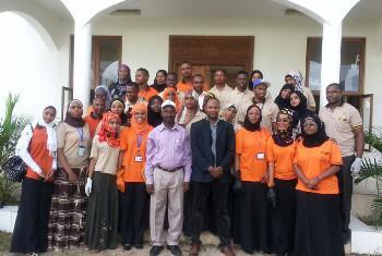 Jumuiya ya vijana wa Umoja wa Mataifa Zanzibar Picha ya @IPA