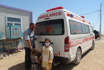 Picha: WHO/S. Al-Dahwi — Iraq.