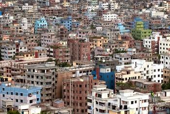 Mji wa Dhaka, Bangladesh Picha ya UM/Kibae Park